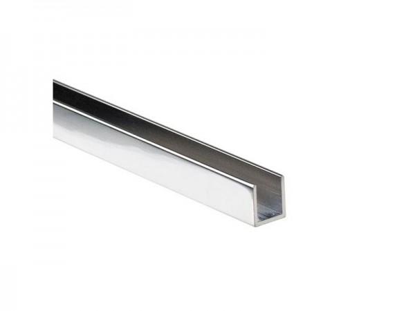 Aluminium Duschprofil U-Profil Wandprofil für Dusche