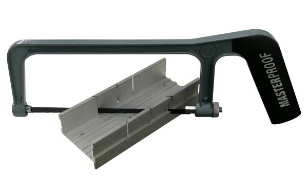 Handsäge Gehrungssäge für Aluminium 0° - 300° Bastlersäge Metall Säge