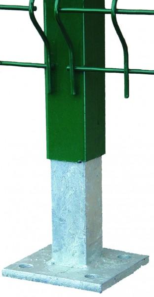 Stabfuß Pfostenträger Montagefüße für Boden und L-Steine
